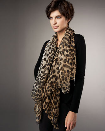 Leopard Print Slip On Shoes Womens