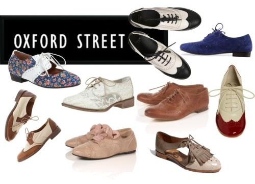 Comfortable Brogue Shoes Women