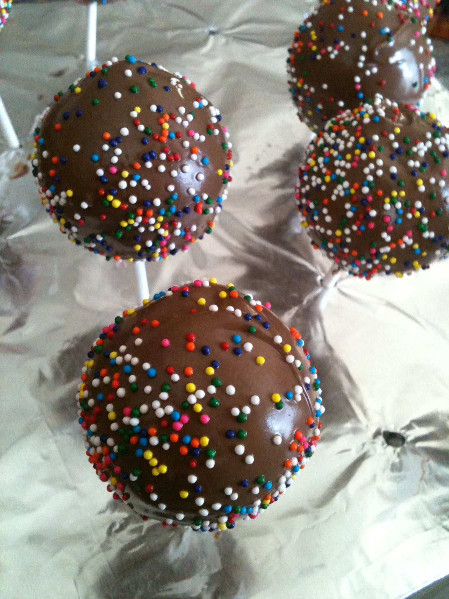 how to make candy coating for cake pops