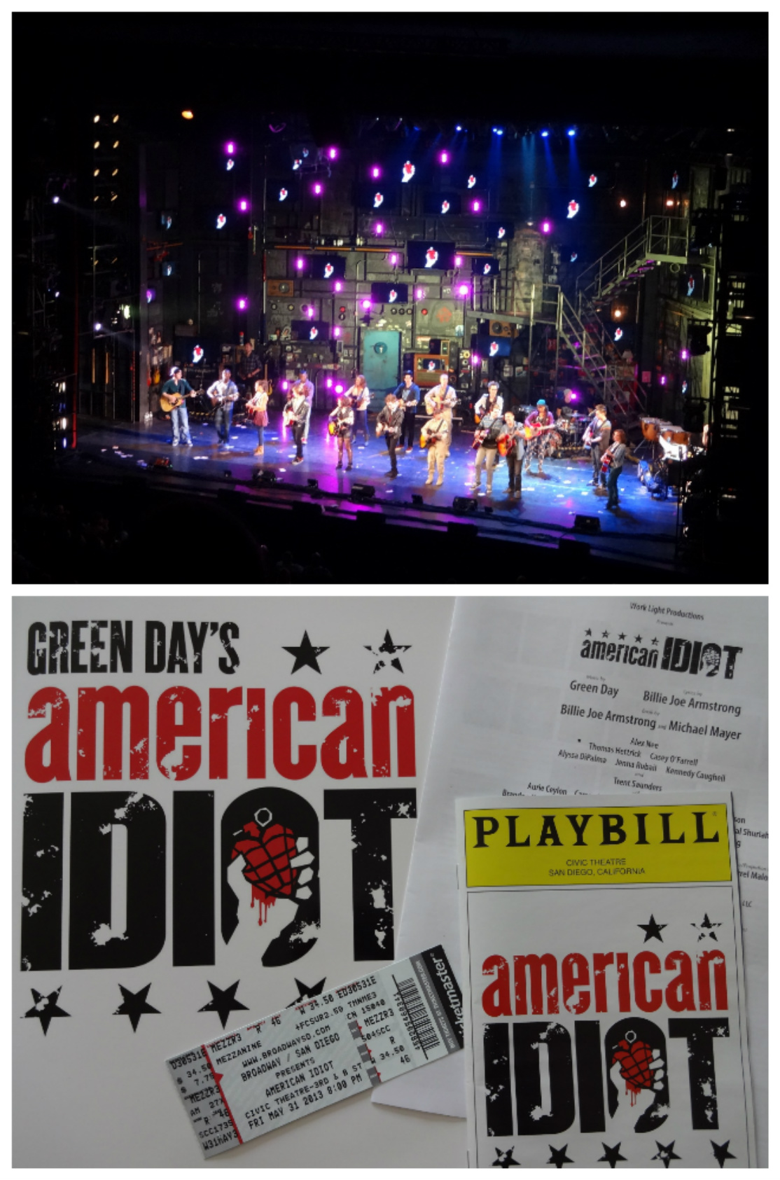 American Idiot Collage 2