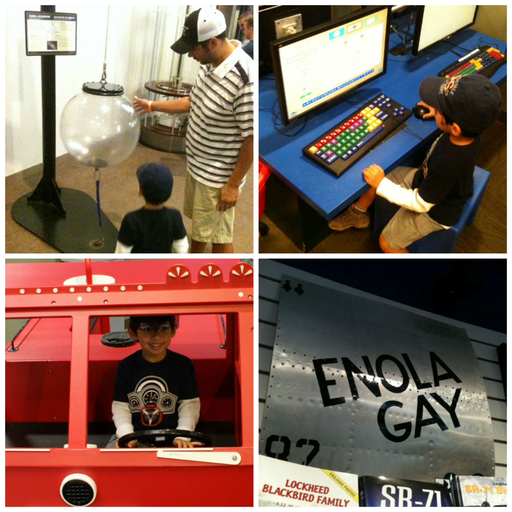 Ruben H Fleet Science Center Collage