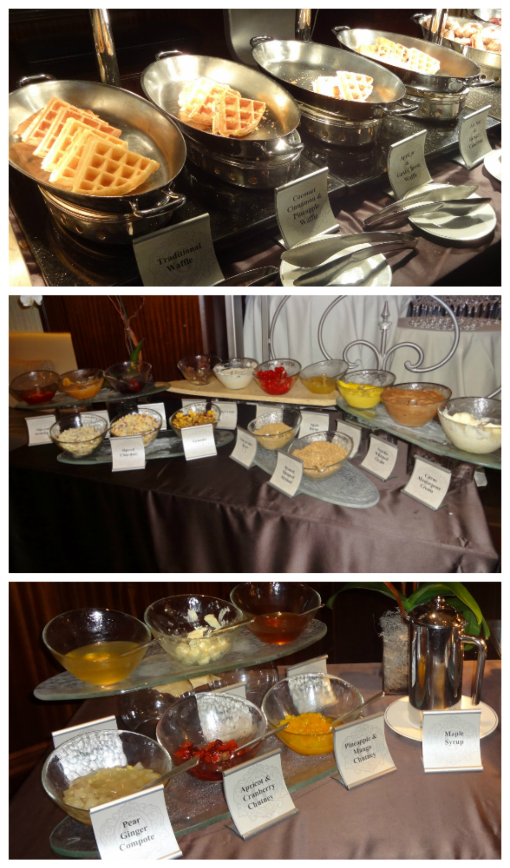 Waffle Brunch Collage