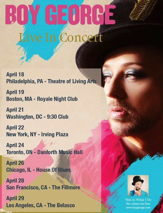 Boy George Live in Concert 2014