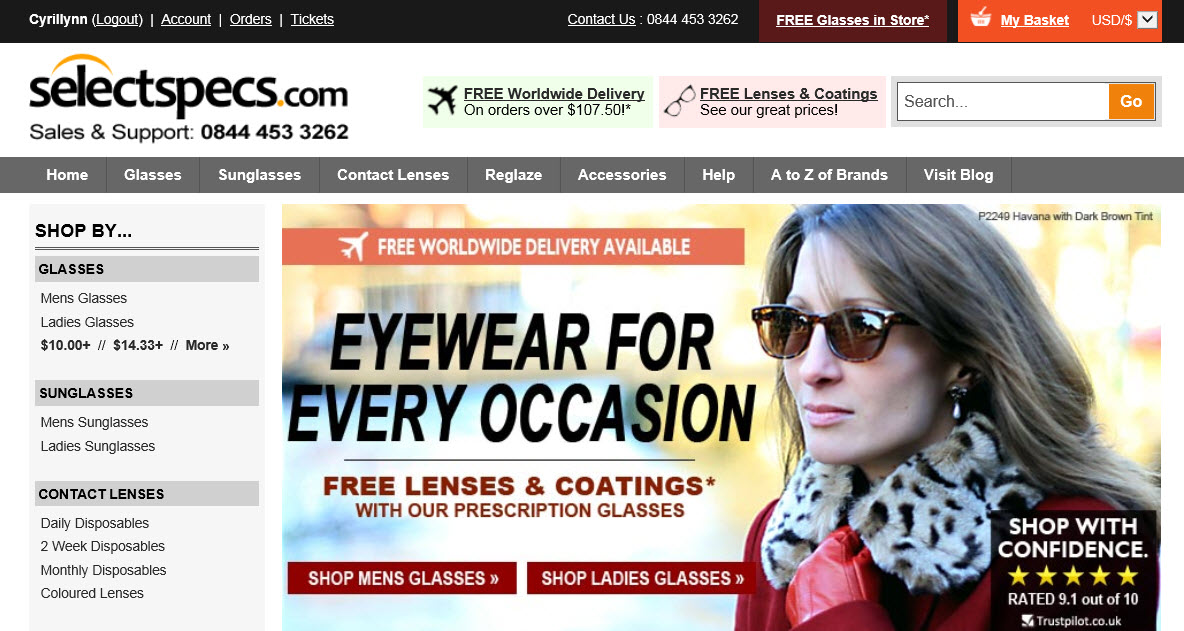 2c851101c25 Affordable Eyewear  SelectSpecs.com Review – Any Second Now