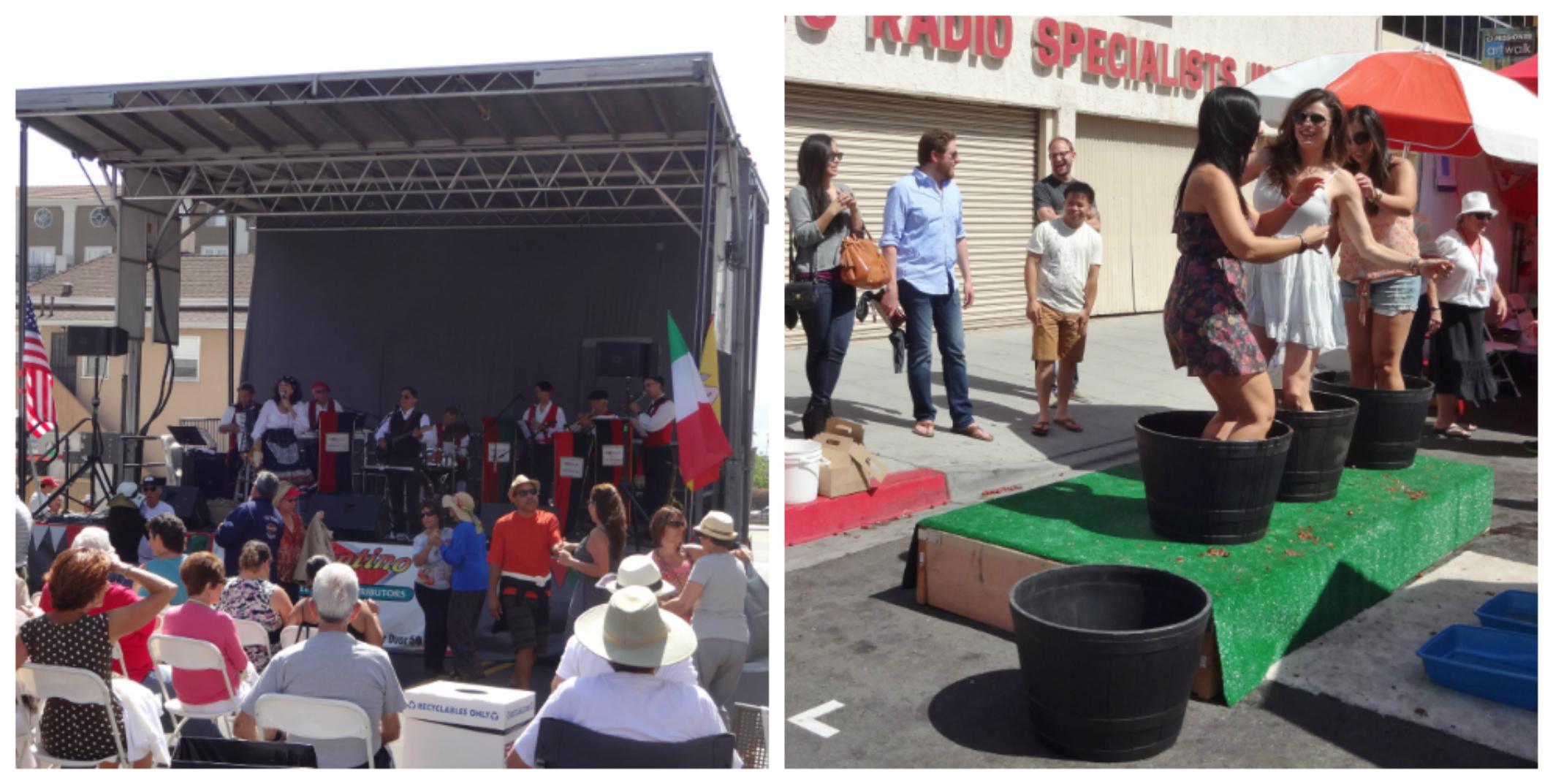 Sicilian Fest 2014 Collage 1