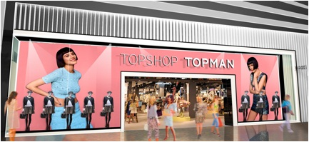 TOPSHOP TOPMAN Fashion Valley