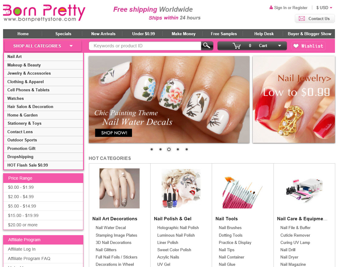 Nail Art Galore at Born Pretty – Any Second Now