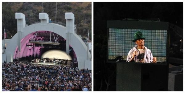 Pharrell in concert 2014