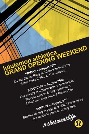 FV lululemon Opening