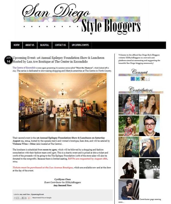 SD Style Bloggers Contributor