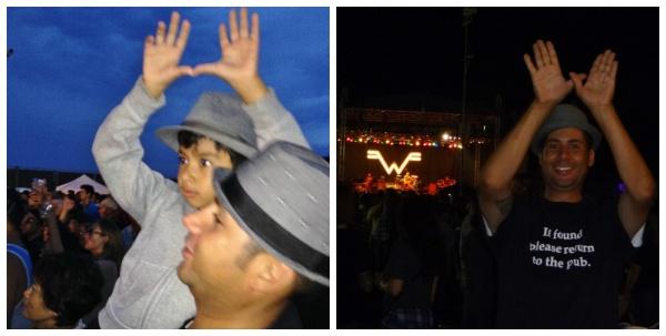 Weezer Concert 2014 Collage 2