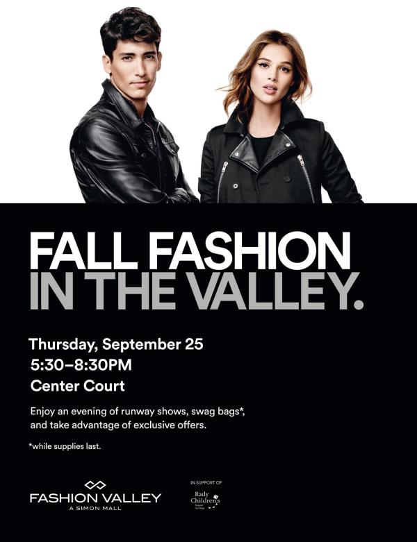 Fall Fashion In The Valley