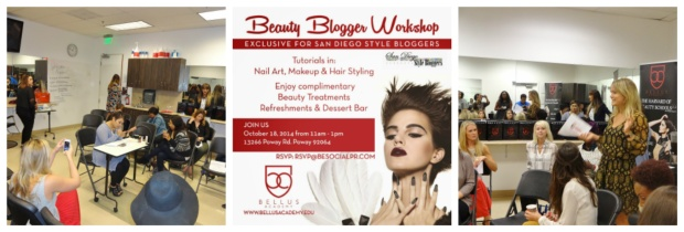 Beauty Blogger Workshop 2014 Collage 4