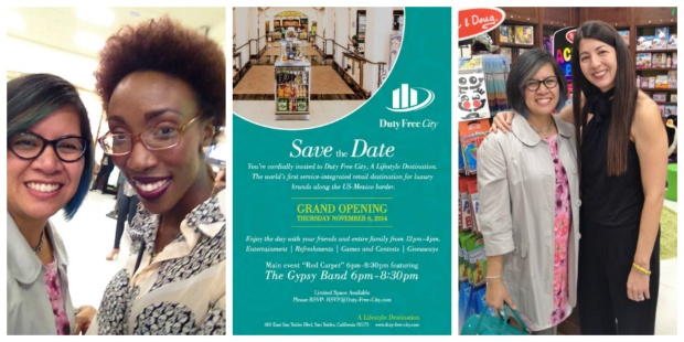 Duty Free City Opening 2014 Collage 3