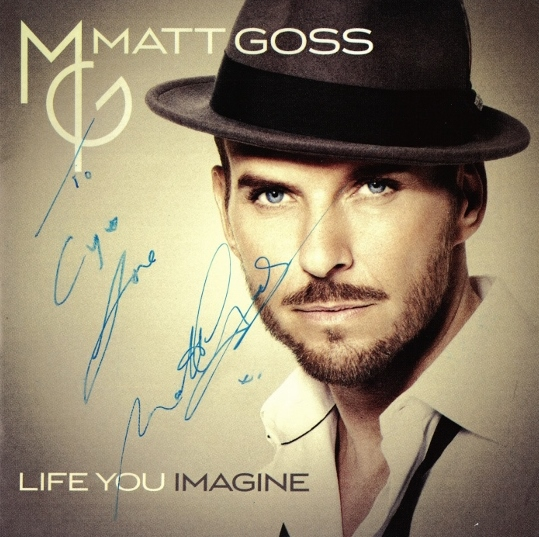 Signed Life You Imagine 11.28.2014