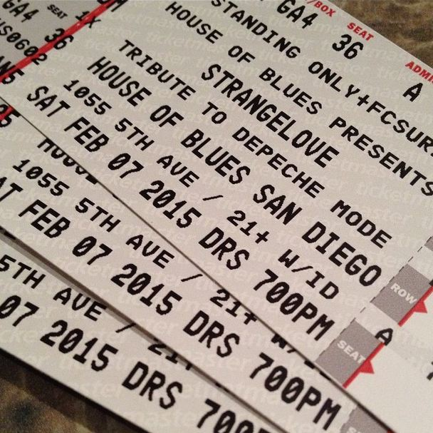 Strangelove Tickets