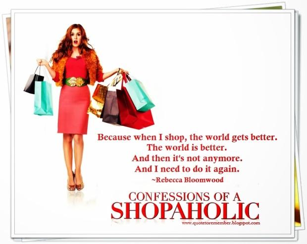 Fashion Sobriety: Reformation of a Shopaholic