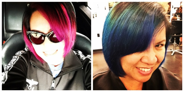 KCS Hair Color Collage